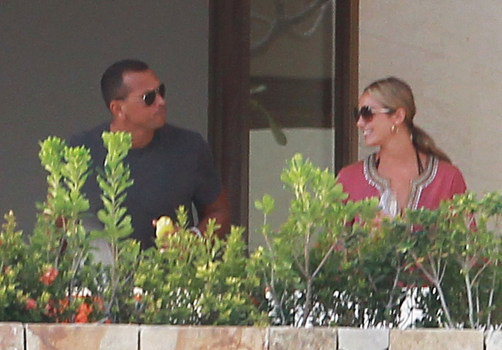 George Clooney and Stacy Keibler Relax With Their Crew — Including ARod! — In Cabo