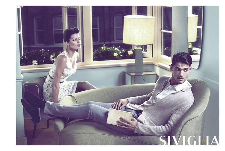 Sexy couple time in Siviglia's Spring ads. Source: Fashion Gone Rogue