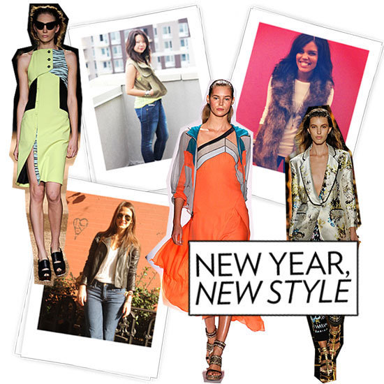 It's 2012! Time to make some fashionable resolutions (and keep 'em). Read up on what our editors are planning to do differently in the New Year.