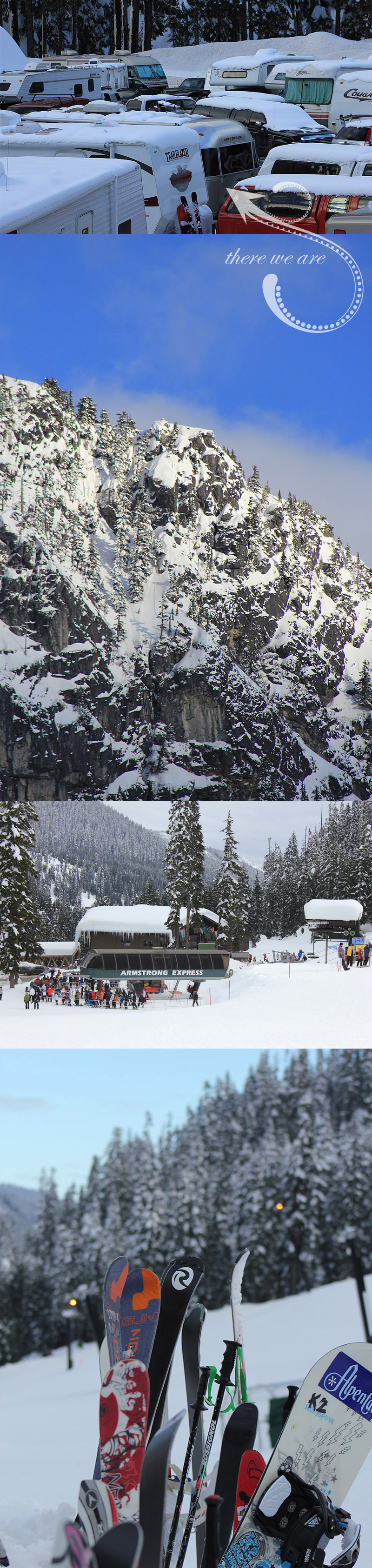 Summit at Snoqualmie and Skiing at Alpental, WA State