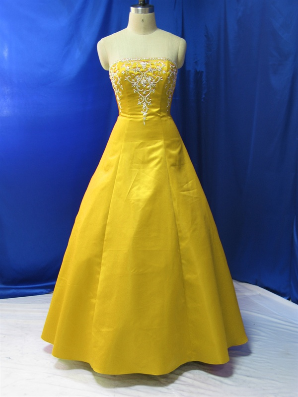 Yellow wedding dress cheap dress blog edin for Yellow dresses for weddings