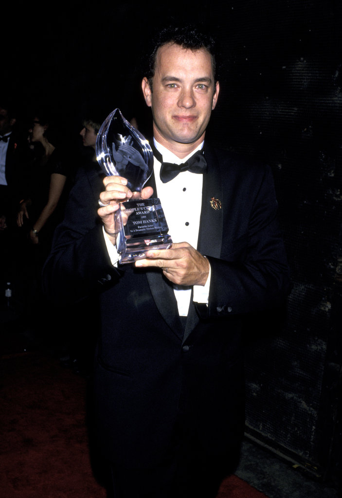 Tom Hanks took home an award for Forrest Gump in 1995.