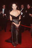 Sandra Bullock walked the red carpet in a sexy low-cut dress in 1999.