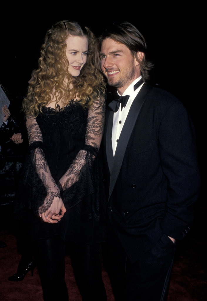 Then-couple Nicole Kidman and Tom Cruise hit the red carpet together in 1994.