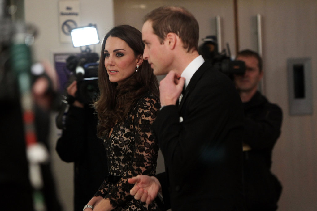Prince William and Kate Middleton Glam Up the London Premiere of War Horse