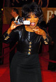 Oprah brought a video camera to the red carpet in 2004.