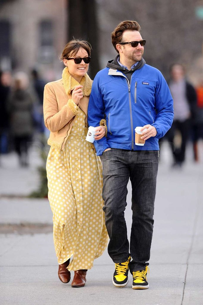 Olivia Wilde and Jason Sudeikis were back in NYC.