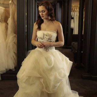 Gossip Girl Photos of Blair in a Wedding Dress