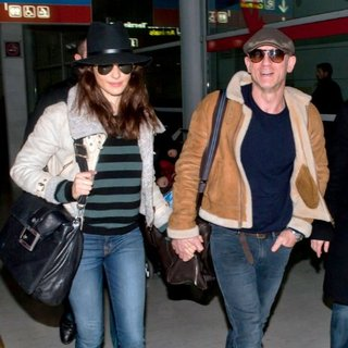 Rachel Weisz and Daniel Craig Pictures in Paris