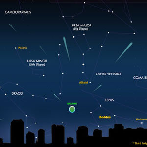 Quadrantids Meteor Shower Start Time