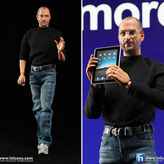 Steve Jobs Action Figure Doll