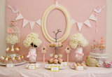 Little Pink Birdies Dessert Table