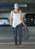Halle Berry stepped out in LA.