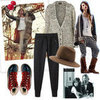 Winter Fashion Mood Board