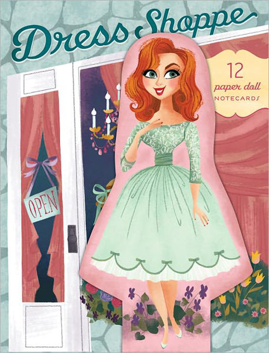 Dress Shoppe Notecards ($12.95)
