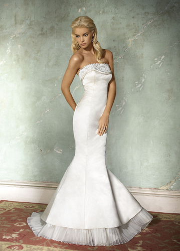 If you want to find simple wedding dresses because those are what suits you