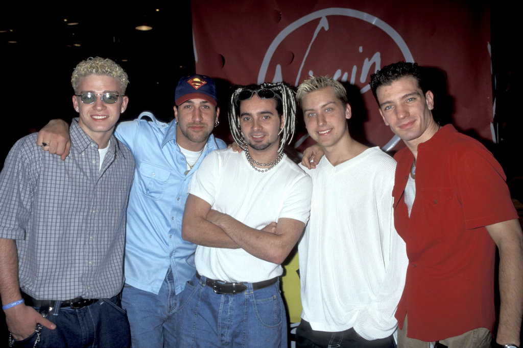 *NSYNC looks too cool for school in 1998.