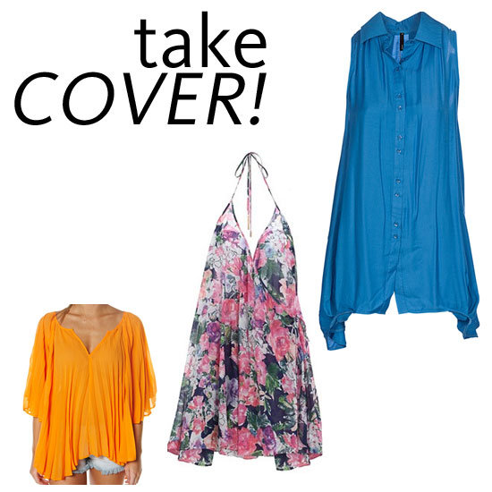 Fab's Fast Five: Cool-As Cover Ups for the Beach
