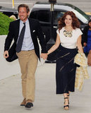 Drew Barrymore and Will Kopelman arrived hand in hand at a Chanel-hosted dinner in Malibu to benefit the Natural Resources Defense Council's Ocean Initiative in June 2011.