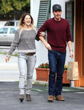 Drew Barrymore and Will Kopelman met for an LA lunch date in March 2011.