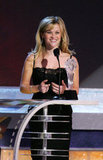 Reese Witherspoon accepted the award for best actress in 2006.