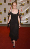 Kate Bosworth was all smiles in a black gown in 2003.