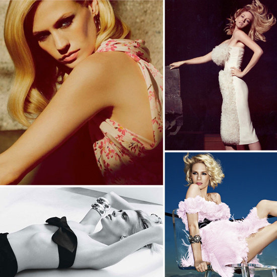 Peek 25 of January Jones's most sizzling editorials now.
