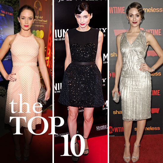 Fab's Top 10 Celebrity Looks of the Week — Rooney, Emmy, Emily, and More!