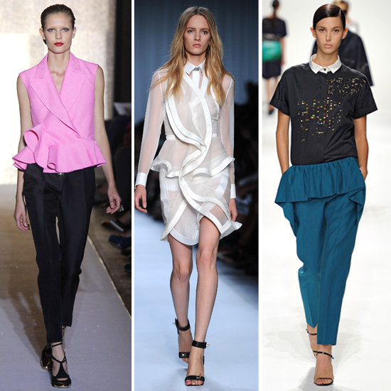 Spring 2012 Trend: A Pop of Peplum