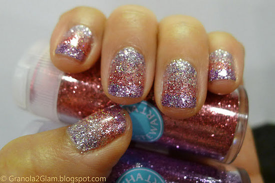 DIY Manicure with Martha Stewart Glitter