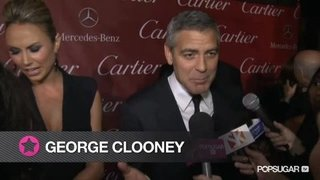 George Clooney at the Palm Springs Film Festival