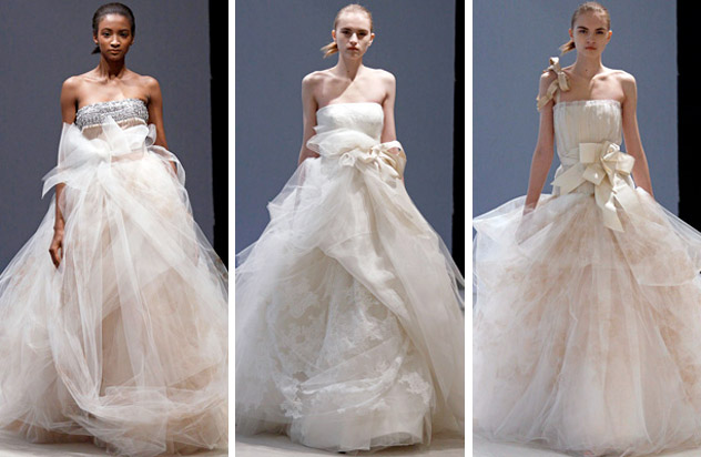 Vera Wang Wedding Dresses Each bridetobe who bought a bridal gown from