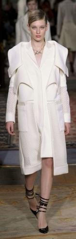 Antonio Berardi London Fashion Week fashion show catwalk report fall 2011