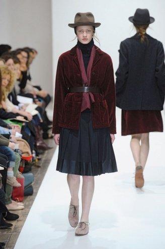 Margaret Howell London Fashion Week fashion show catwalk report fall 2011