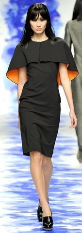 Osman London Fashion Week fashion show catwalk report fall 2011