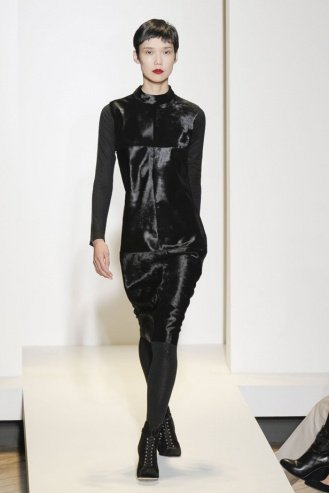 Nicole Farhi London Fashion Week fashion show catwalk report fall 2011