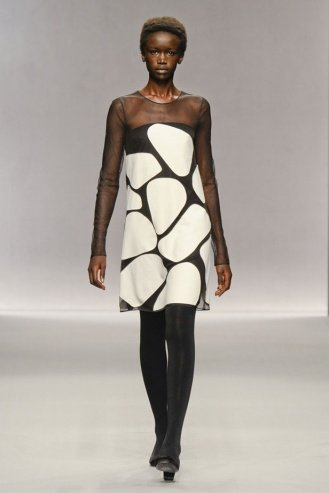 Jasper Conran London Fashion Week fashion show catwalk report fall 2011