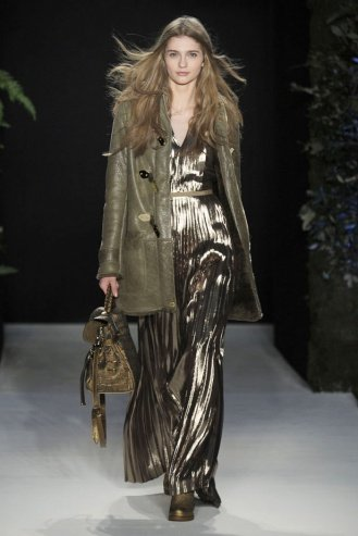 Mulberry London Fashion Week fashion show catwalk report fall 2011