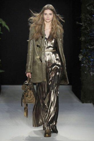 Mulberry London Fashion Week fashion show catwalk report fall 2011