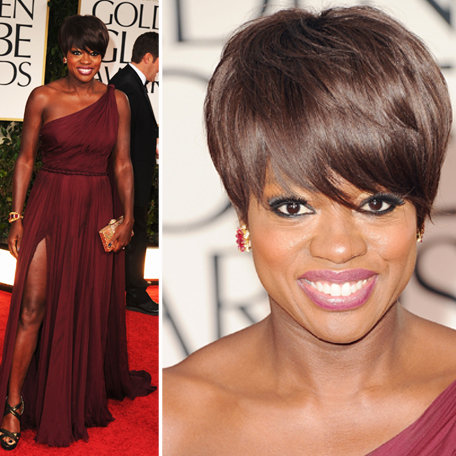 Viola Davis in Pucci at Golden Globes 2012