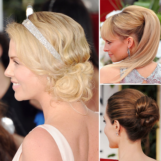 See the 10 Greatest Golden Globes Hairstyles From the Back