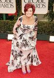Sharon Osbourne at the Golden Globes.
