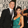 Channing Tatum and Jenna Dewan Golden Globes 2012 Pictures