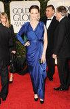 Emily Deschanel at the Golden Globes.
