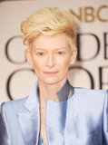 Tilda Swinton at the Golden Globes.