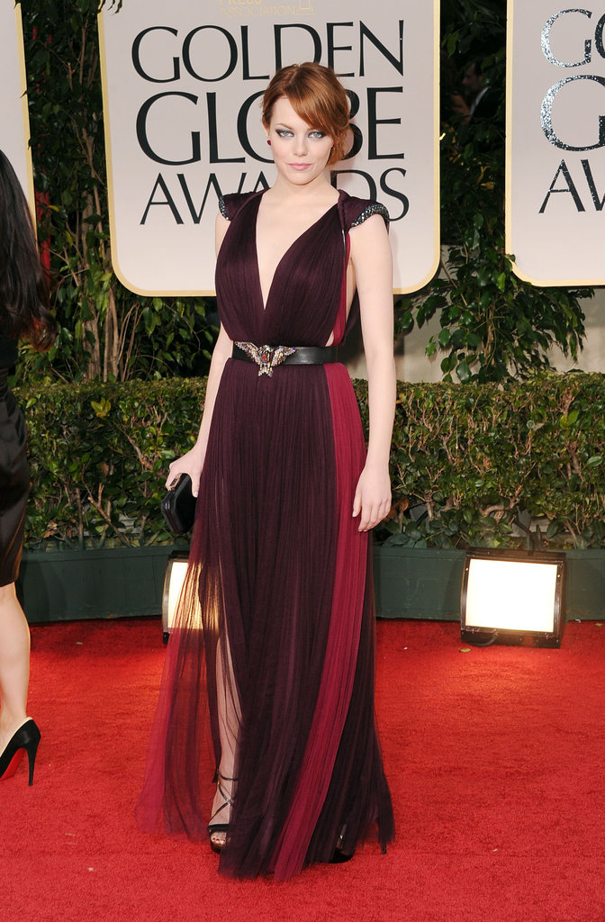 Emma Stone's Lanvin dress.