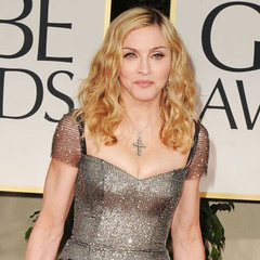 Madonna Reem Acra Dress Pictures at 2012 Golden Globes