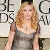 Madonna in Reem Acra Dress at Golden Globes Pictures