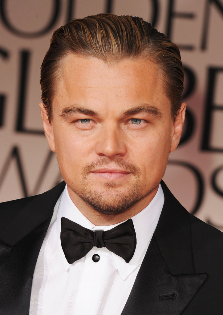 Leonardo DiCaprio was a guest at the Golden Globes.