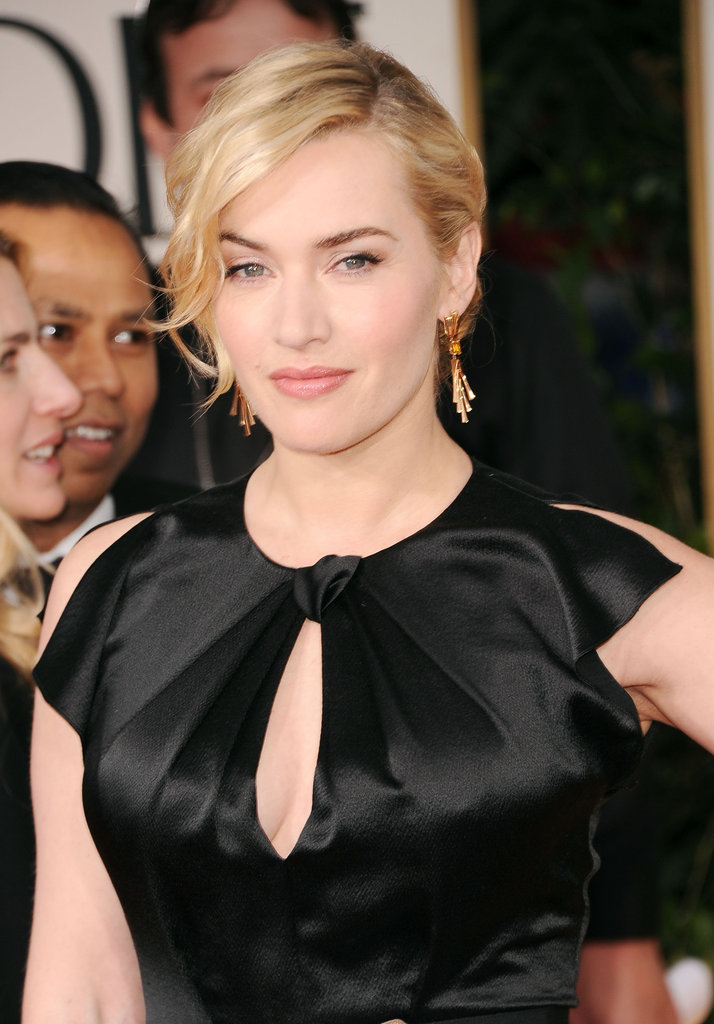 Kate Winslet at the 2012 Golden Globe Awards.